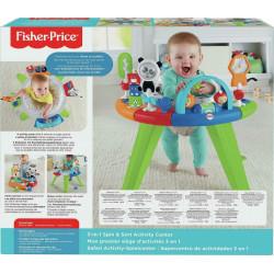 Παιχνιδιάρικο κέντρο δραστηριοτήτων Fisher-Price® 3 σε 1 με καθισματάκι GGC60