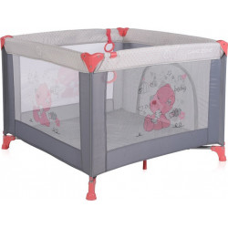 Πάρκο LoreLLi® Game Zone My Baby Pink & Grey