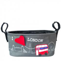 Πολυθήκη καροτσιού Choopie CityBacket Limited Edition London