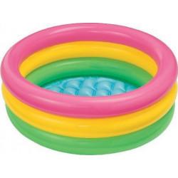 Φουσκωτή πισίνα INTEX® Sunset Glow 1-3 ετών