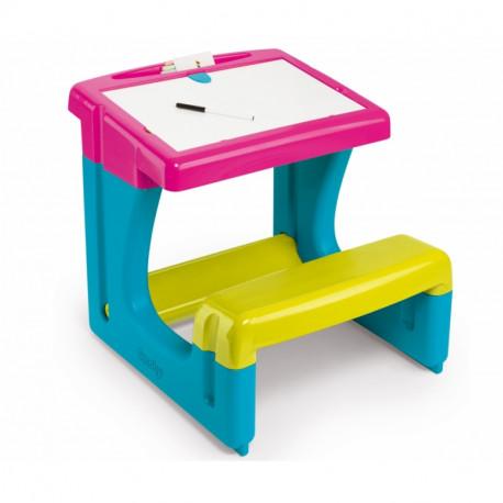Θρανίο Smoby Little Pupils Desk, 2 χρώματα