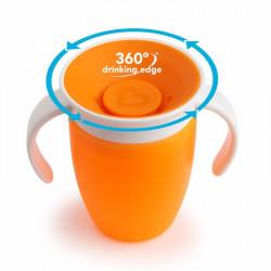 Munchkin εκπαιδευτικό κύπελλο Miracle® 360° Trainer Cup 207ml