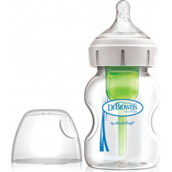 DrBrown's™ μπιμπερό Options+ φαρδύς λαιμός 150 ml 0M+
