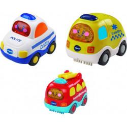Οχήματα 3 σε 1 άμεσης βοήθειας Vtech® Baby Toot-Toot®, σετ των 3