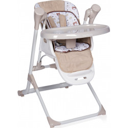 LoreLLi® ηλεκτρική κούνια  - ριλάξ και καρέκλα φαγητού Ventura Beige