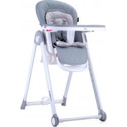 LoreLLi® καρέκλα φαγητού Party Grey PU Leather