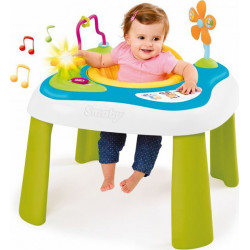 Ηλεκτρονικό τραπεζάκι και καθισματάκι 2 σε 1 Smoby Cotoons Youpi Baby