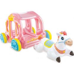 Φουσκωτή πριγκιπική άμαξα INTEX® Princess Carriage 3+ ετών