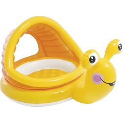 Φουσκωτή πισίνα με σκίαστρο INTEX® Lazy Snail 1-3 ετών