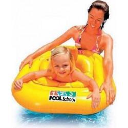 Φουσκωτό κάθισμα - σαμπρέλα θαλάσσης INTEX® Pool School™ Deluxe 1-2 ετών