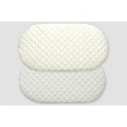 Στρώμα καλαθούνας GRECO STROM Ιόλη με ύφασμα ζακάρ βαμβακερό (έως 40x80cm)