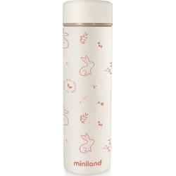 Miniland θερμός υγρών NaturThermos Bunny 450 ml