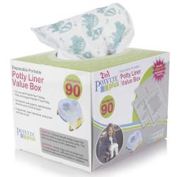 POTETTE®plus ανταλλακτικές σακούλες για γιογιό σε ρολό 90 τεμάχια