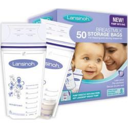 Lansinoh® σακουλάκια αποθήκευσης μητρικού γάλακτος 50 τεμάχια