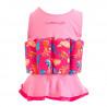 Σωσίβιο - ολόσωμο μαγιό Konfidence™ Floatsuit Mia 1-2 ετών