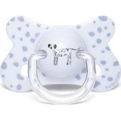 Suavinex πιπίλα Fusion Physiological Good Dog Dalmatian 4-18Μ
