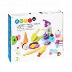 Σετ κατασκευής γλυκών και παγωτών από πλαστελίνη Oxybul ARTibul