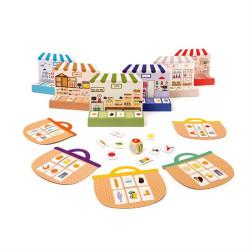 Παιχνίδι με κάρτες Oxybul EDUC4bul Καλάθι για ψώνια