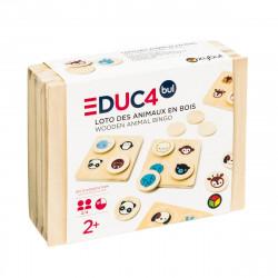 Ξύλινο bingo με ζωάκια Oxybul EDUC4bul
