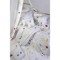 Κουβερλί DOWN TOWN BABY Numbers & Dots 95 x 145 cm