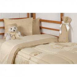 Σεντόνια DOWN TOWN BABY Teddy Bear 125 x 175 cm σετ των 3