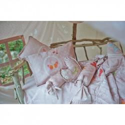 Σεντόνια DOWN TOWN BABY Butterfly Dreamland 125 x 175 cm σετ των 3