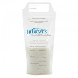 Dr Brown's σακουλάκια αποθήκευσης μητρικού γάλακτος 25 τμχ