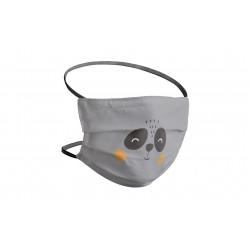 X-treme BABY παιδικές υφασμάτινες μάσκες προστασίας Panda 3-11 ετών σετ των 2
