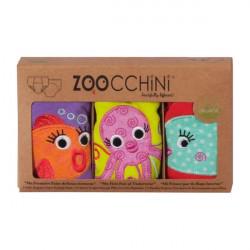 ZOOCCHiNi™ σετ εκπαιδευτικά βρακάκια Ocean Friends για κορίτσι 2-3 ετών