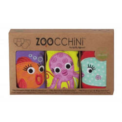 ZOOCCHiNi™ σετ εκπαιδευτικά βρακάκια Ocean Friends για κορίτσι 3-4 ετών