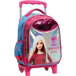Σακίδιο νηπιαγωγείου με τρόλεϊ GiM Barbie® Denim Fashion