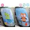 Kiokids® προστατευτικό κάλυμμα πλάτης καθίσματος αυτοκινήτου Κουκουβάγια