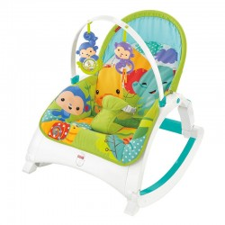 Κούνια - ριλάξ Fisher-Price® Rainforest Friends Newborn to Toddler CMR10