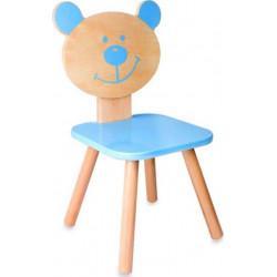 Ξύλινη καρέκλα Αρκουδάκι Classic world™ Blue Bear