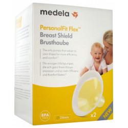 Medela χοάνες θηλάστρου PersonalFit Flex™ 24 mm, σετ των 2