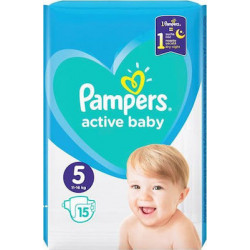 Πάνες Pampers® Active Baby-Dry No 5 (11-18 kg) 15 τεμάχια