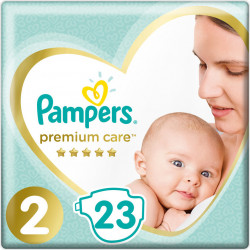 Πάνες Pampers® Premium Care No 2 (4-8 kg) 23 τεμάχια