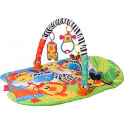 Εκπαιδευτικό γυμναστήριο - χαλάκι δραστηριοτήτων 5 σε 1 Playgro™ Safari