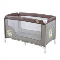Παρκοκρέβατο LoreLLi® Baby Nanny Beige Buho