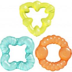 Playgro™ δροσιστικοί δακτύλιοι οδοντοφυΐας Bumpy Gums Water Teethers σετ των 3