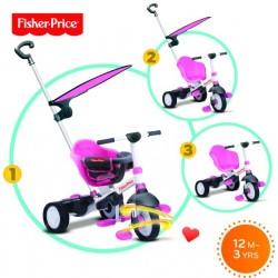 Τρίκυκλο ποδήλατο SmarTrike® Charm Plus 3 in 1 Pink