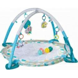 Γυμναστήριο με πλέγμα ασφαλείας Infantino® 3-in-1 Jumbo Activity Gym & Ball Pit™