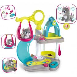 Σπιτάκι και κέντρο φροντίδας γάτας Smoby Cat's House