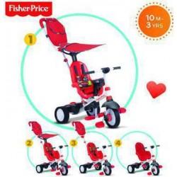 Τρίκυκλο ποδήλατο SmarTrike® Charisma 4 in 1 Red