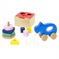 Σετ 3 ξύλινα παιχνίδια Oxybul MANibul