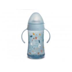 Suavinex εκπαιδευτικό μπιμπερό 270 ml Second Bottle Into the Forest Blue 4M+