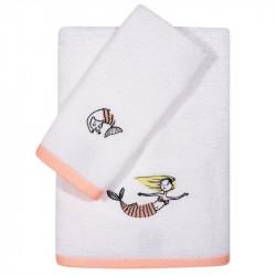 Πετσέτες με κέντημα Das® baby Fun σετ των 2