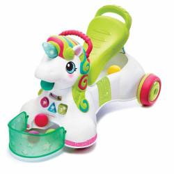 Περπατούρα δραστηριοτήτων Infantino® 3-in-1 Sit, Walk & Ride Unicorn