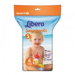 Πάνες - μαγιό μιας χρήσης Libero Swimpants Small 7-12 kg