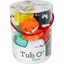 Σετ 9 παιχνίδια μπάνιου Infantino® Tub O' Toys